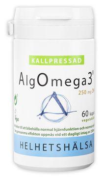 Helhetshälsa AlgOmega3 Kallpressad 60 kapslar