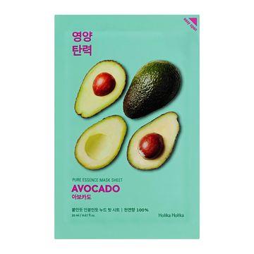 Holika Holika Pure Essence Mask Sheet Avocado Ansiktsmask, 23 ml