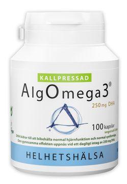 Helhetshälsa AlgOmega3 Kallpressad 100 kapslar