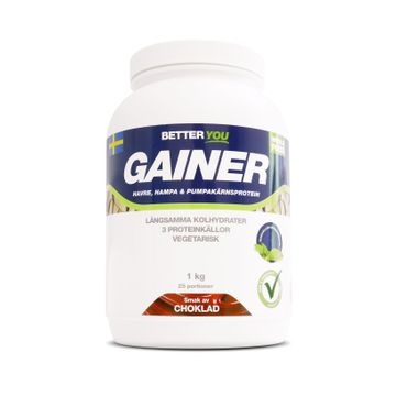 Better You Whole Food Gainer Choklad Pulver, 1 kg