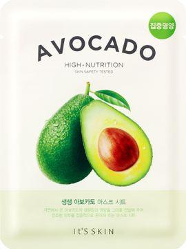 It'S Skin The Fresh Mask Sheet Avocado Ansiktsmask. 21 g