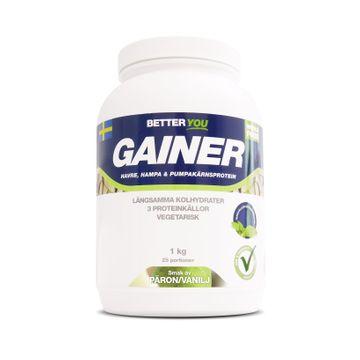 Better You Whole Food Gainer Päron/Vanilj Pulver, 1 kg