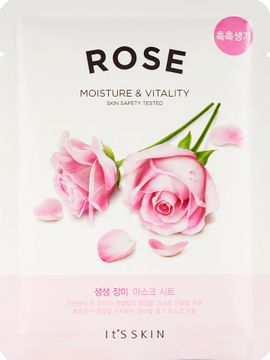 It'S Skin The Fresh Mask Sheet Rose Ansiktsmask. 20 g