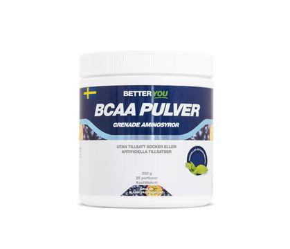 Better You Naturligt Bcaa Pulver Passion/Blåbär Pulver, 250 g