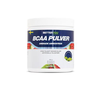 Better You Naturligt Bcaa Pulver Päron/Melon Pulver, 250 g