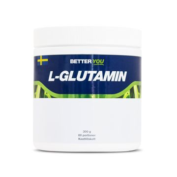 Better You Naturligt L-Glutamin Naturell Pulver, 300 g