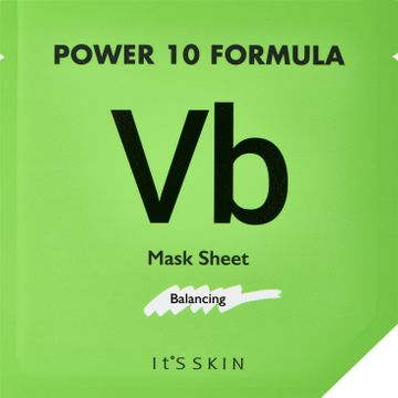 It'S Skin Power 10 Formula Mask Sheet VB Ansiktsmask. 25 ml