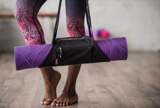 Gaiam On-The-Go Yoga Mat Carrier Granite/Storm Yogamatta, 1 st