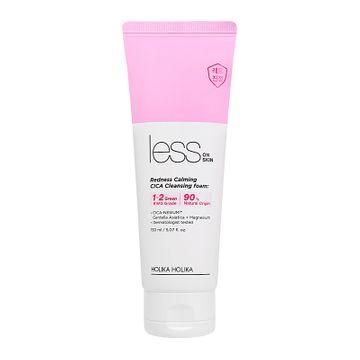 Holika Holika Less On Skin Redness Calming Cica Cleansing Foam Ansiktsrengöring, 150 ml