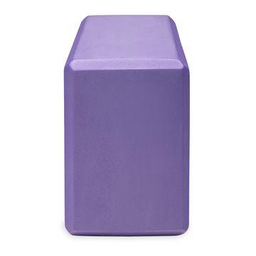 Gaiam Yoga Block Purple Yogablock, 1 st