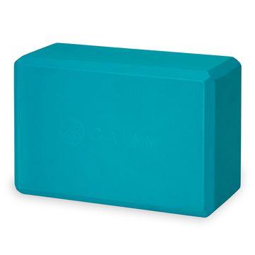 Gaiam Yoga Block Vivid Blue Yogablock, 1 st