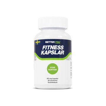 Better You Fitness Kapslar Utan Koffein Kapslar, 60 st