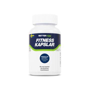 Better You Fitness Kapslar Med Koffein Kapslar, 60 st