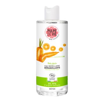 Pulpe de Vie Beautiful Plant Cleansing Micellar Water Detox Ansiktsrengöring, 400 ml