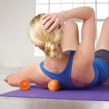 Gaiam Restore Hot & Cold Massage Kit Massageboll, 2 st