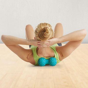 Gaiam Restore Spine Align Dual Roller Massageroller, 1 st