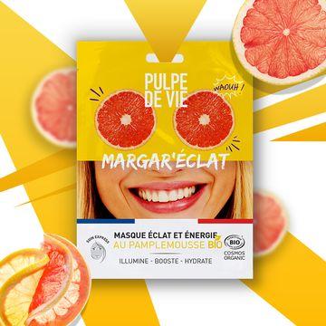 Pulpe de Vie Margar'eclat Sheet Mask Ansiktsmask, 20 ml