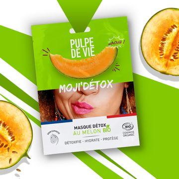 Pulpe de Vie Moji'Detox Detox Sheet Mask Ansiktsmask, 20 ml