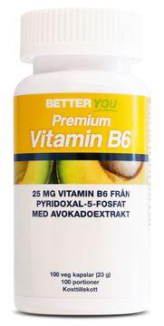 Better You Premium Vitamin B6 Kapslar, 100 st