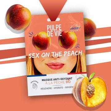 Pulpe de Vie Sex On The Peach Anti-Oxydant Sheet Mask Ansiktsmask, 20 ml