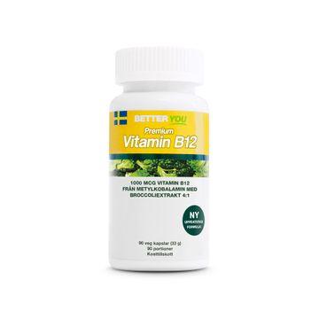 Better You Premium Vitamin B12 Kapslar, 90 st
