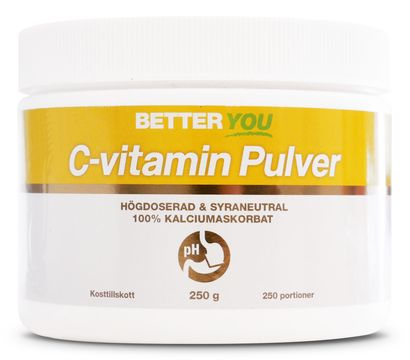 Better You C-Vitamin Pulver Pulver, 250 g