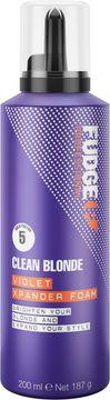 Fudge Clean Blonde Violet Xpander Foam Hårmousse, 200 ml