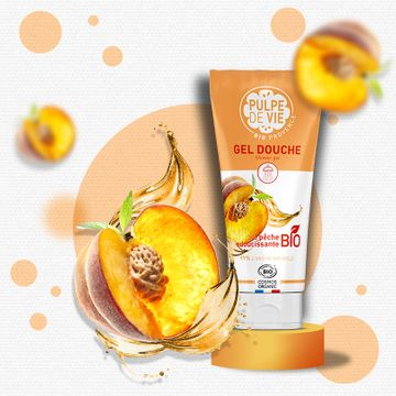 Pulpe de Vie Peach Please Shower Gel Duschtvål, 200 ml