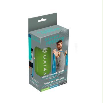 Gaiam Restore Strength & Flexibility Kit Träningsband, 1 st
