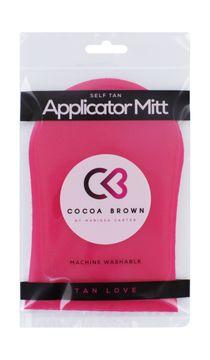 Cocoa Brown Pink Tanning Mitt Appliceringshandske Brun utan sol. 1 st