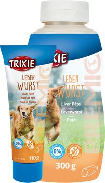 Trixie Premio Leverpaté i Tub Hund Hundmat, 110 g