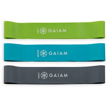 Gaiam Mini Band Kit Träningsband, 1 st