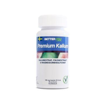 Better You Premium Kalium Kapslar, 100 st