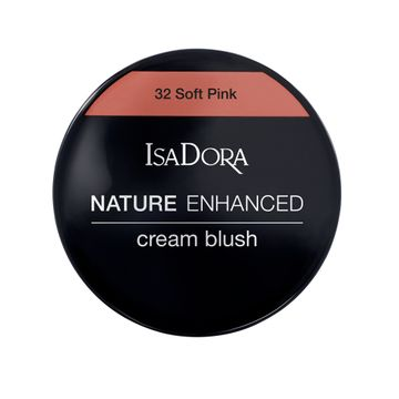 Isadora Nature Enhanced Cream Blush 32 Soft Pink Rouge, 3 g
