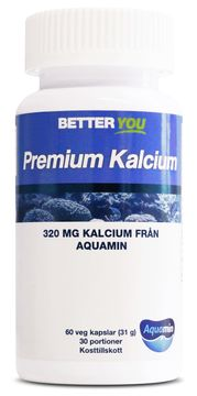 Better You Premium Kalcium Kapslar, 60 st