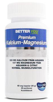 Better You Premium Kalcium-Magnesium Kapslar, 60 st