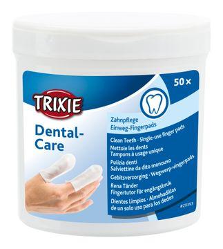 Trixie Fingerpad Mint Tandvård Tandvård för djur, 50 st