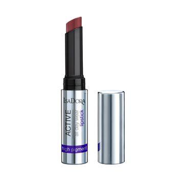 Isadora Active All Day Wear Lipstick 14 Sweet Plum Läppstift, 1,6 g
