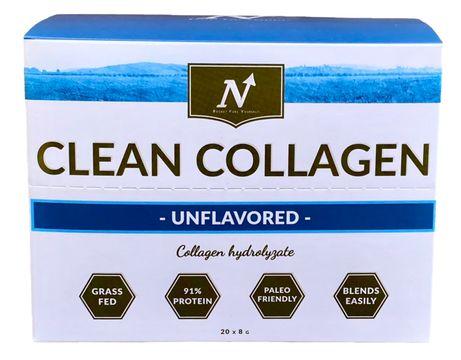 Nyttoteket Clean Collagen Stickpack Portionspåsar, 20x8 g