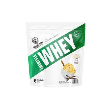 Swedish Supplements Lifestyle Whey Protein Vanilla Ice Proteinpulver, 1 kg