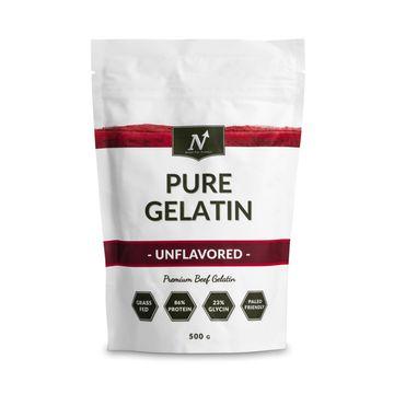 Nyttoteket Pure Gelatin Gelatinpulver, 500 g