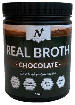 Nyttoteket Real Broth Chocolate Pulver, 500 g