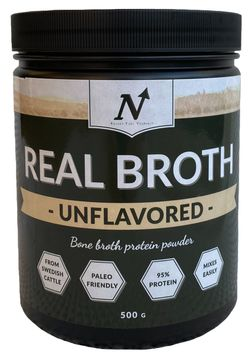 Nyttoteket Real Broth Unflavored Pulver, 500 g