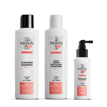 Nioxin Trial Kit System 3 Hårvårds-kit, 150+150+50 ml