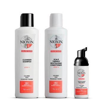 Nioxin Trial Kit System 4 Hårvårds-kit, 150+150+40 ml
