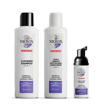 Nioxin Trial Kit System 6 Hårvårds-kit, 150+150+40 ml