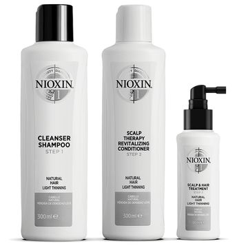 Nioxin Loyalty Kit System 1 Hårvårds-kit, 300+300+100 ml