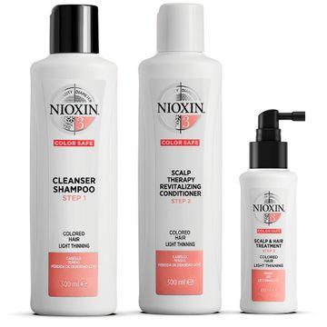 Nioxin Loyalty Kit System 3 Hårvårds-kit, 300+300+100 ml