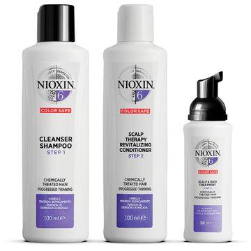 Nioxin Loyalty Kit System 6 Hårvårds-kit, 300+300+100 ml