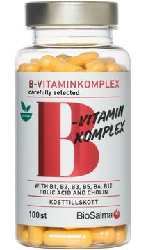 BioSalma B-vitaminkomplex Highly Efficient Kapslar, 100 st
